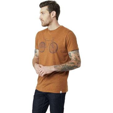 (取寄)テンツリー メンズ エルムズ ショートスリーブ Tシャツ Tentree Men's Elms Short-Sleeve T-Shirt Brown Sugar