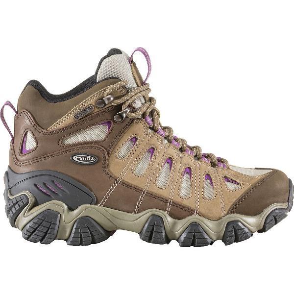 (取寄)オボズ レディース ソートゥース ミッド B-Dry ハイキング ブーツ Oboz Women Sawtooth Mid B-Dry Hiking Boot Violet