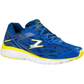 (索取)zutomenzusorana 2跑步鞋ZOOT Men's Solana 2 Running Shoe Zoot Blue/Navy/Pure Yellow