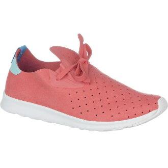 (索取)當地人女士阿波羅嘲笑鞋Native Women Apollo Moc Shoe Shoes Snapper Red/Cabo Blue/Shell White[支持便利店領取的商品]