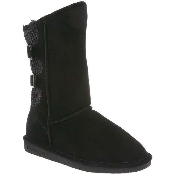 (取寄)ベアパウ レディース Boshie ブーツ Bearpaw Women Boshie Boot Black 【コンビニ受取対応商品】