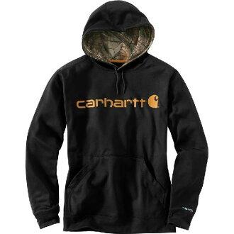 (得到 CDN) 卡哈特男式力極端 SIG 2 字元圖形連帽運動衫連帽衫卡哈特男式迫使極端簽名圖形連帽運動衫連帽衫黑色