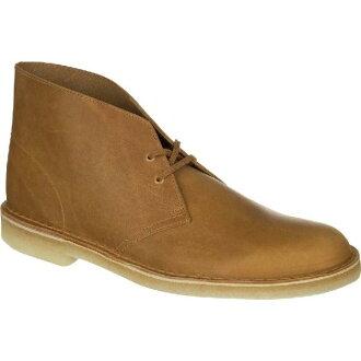(Get CDN) Clarks 男士沙漠核心靴子 Clarks 男士沙漠核心引導芥末皮革