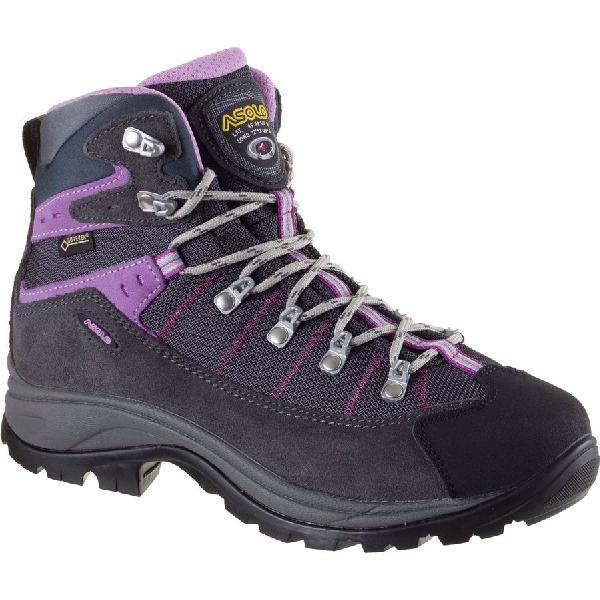 (取寄)アゾロ レディース リバート GV ハイキング ブーツ Asolo Women Revert GV Hiking Boot Grey/Gunmetal:ジェットラグ
