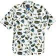 (取寄)カブー メンズ Festaruski シャツ Kavu Men's Festaruski Short-Sleeve Shirt Cove Diver