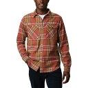 (取寄)コロンビア メンズ アウトドア エレメンツ ストレッチ フランネル シャツ Columbia Men's Outdoor Elements Stretch Flannel Shirt Mountain Red Multi Plaid 送料無料