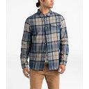 【クーポンで最大2000円OFF】(取寄)ノースフェイス メンズ アローヨ フランネル LS シャツ The North Face Men's Arroyo Flannel LS Shirt Mid Grey Speed Wagon Plaid