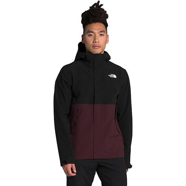 メンズウェア, アウター () The North Face Mens Apex Flex DryVent Jacket Root Brown TNF Black