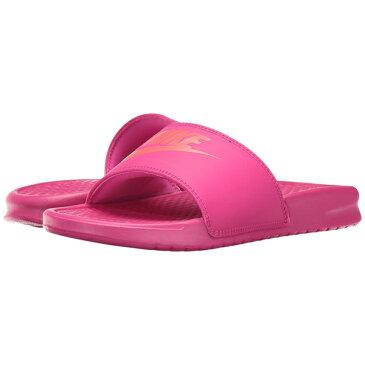NIKE ナイキ サンダル ベナッシ スライド ピンク NIKE Benassi JDI Slide 343881-607 Deadly Pink/Solar Red