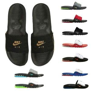 NIKE ナイキ サンダル エアマックス カムデン スライド ブラック/ゴールド/グレー/ホワイト/レッド/ブルー/グリーン スポーツサンダル シャワーサンダル Nike Men's Air Max Camden Slide Black Gold Grey White Red Green 送料無料