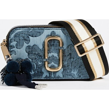 (取寄)Marc Jacobs Snapshot Damask Cross Body Bag マークジェイコブス スナップショット ダマスコ クロス ボディ バッグ Blue