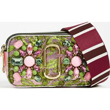 (取寄)Marc Jacobs Snapshot Camera Bag in Floral Brocade マークジェイコブス スナップショット カメラ バッグ イン フローラル ブロケード GreenMulti