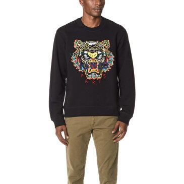 (取寄)KENZO Dragon Tiger Sweatshirt ケンゾー ドラゴン タイガー スウェットシャツ Black