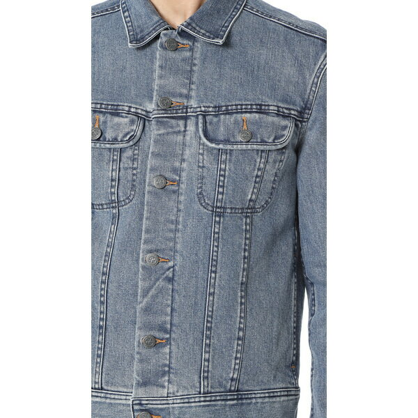 (取寄)アーペーセー ウォッシュド ストレッチ ニュー デニム ジャケット A.P.C. Washed Stretch New Denim Jacket Indigo
