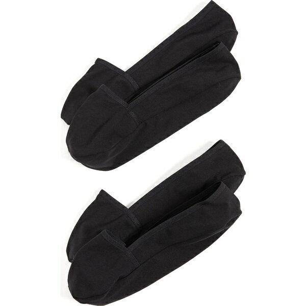 靴下・レッグウェア, 靴下 2000OFF() 2 Calvin Klein Underwear Mens 2 Pack No Show Socks Black