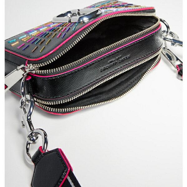 (取寄)マークジェイコブス スナップショット コンフェティ カメラ バッグ Marc Jacobs Snapshot Confetti Camera Bag BlackMulti