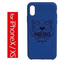 ケンゾータイガーヘッドiPhoneX/XSケースKENZOTigerHeadiPhoneX/XSCaseNavyBlue