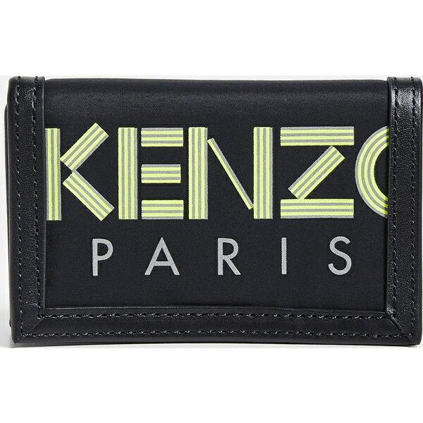 財布・ケース, メンズ財布 () KENZO Gotcha Wallet Black