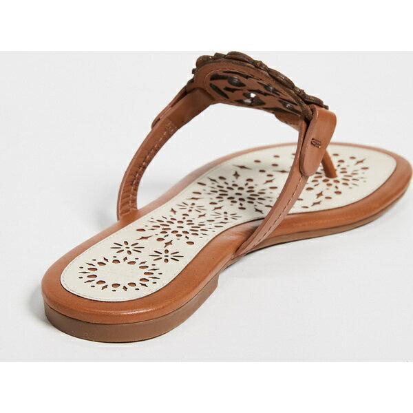 (取寄)トリーバーチ レディース ミラー スカルプ サンダル Tory Burch Women's Miller Scallop Sandals Tan NewCream