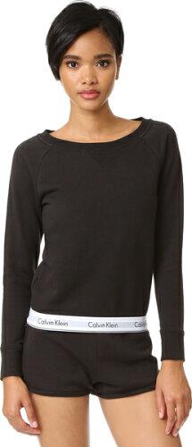 (取寄)Calvin Klein Underwear Women's Modern Cotton Long Sleeve Sweatshirt カルバンクライン ...