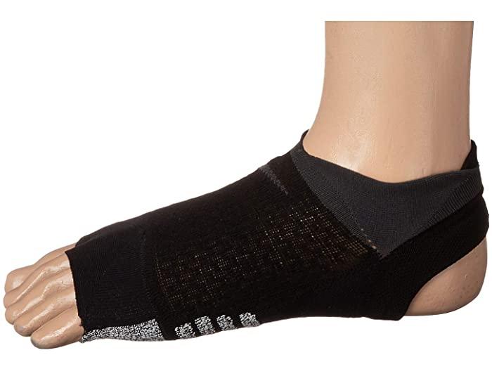 靴下・レッグウェア, 靴下 () Nike Womens Studio Toeless Footie BlackAnthracite
