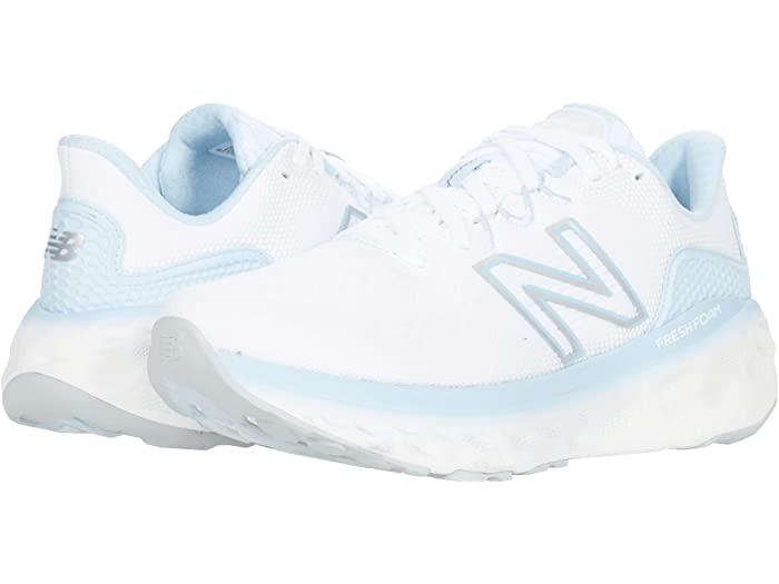 シューズ, レディースシューズ () v3 New Balance Womens Fresh Foam More v3 WhiteUV Glo