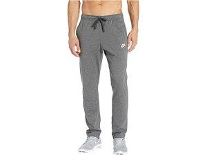 (取寄)ナイキ メンズ NSW クラブ パンツ オープン ヘム ジャージ Nike Men's NSW Club Pants Open Hem Jersey Charcoal Heather/White