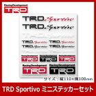 TRD_Sportivo_ミニステッカーセット
