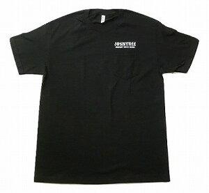 JONNY BEE ジョニービー オリジナル OLD ENGLISH オールドイングリッシュ ポケットTシャツ 黒 ブラック