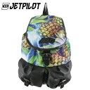 【SALE】ジェットパイロット JETPILOT LADIES BACKPAK TROPO シリーズ PPAP パイナップル柄 デイバッグ バックパック 鞄