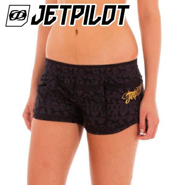 ネコポス送料無料【50%OFF】ジェットパイロット WILDUXE ボードショーツ 女性 水着 ウエイクボード サーフィン SUP ジェットスキーS16006 水上バイク jetpilot