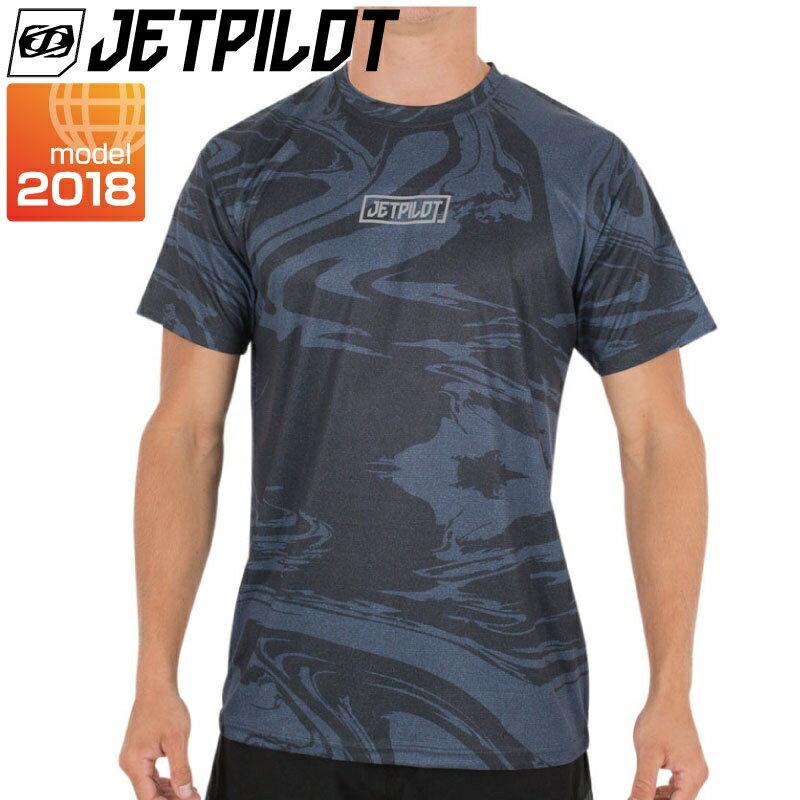 ジェットパイロット【2018新作】TIMEWARPHYDROTEEハイドロシャツS17656メンズラッシュガード速乾性水上オートバイサーフィンSUP
