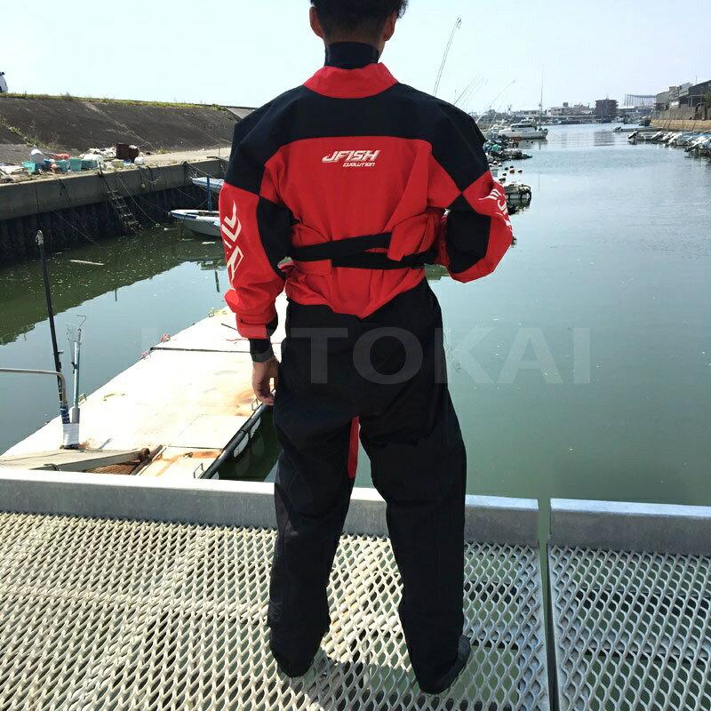 【SALE】ジェイフィッシュドライスーツJ-FISHソックス胸ファスナー小用ファスナージェットスキー水上バイクウエイクボード
