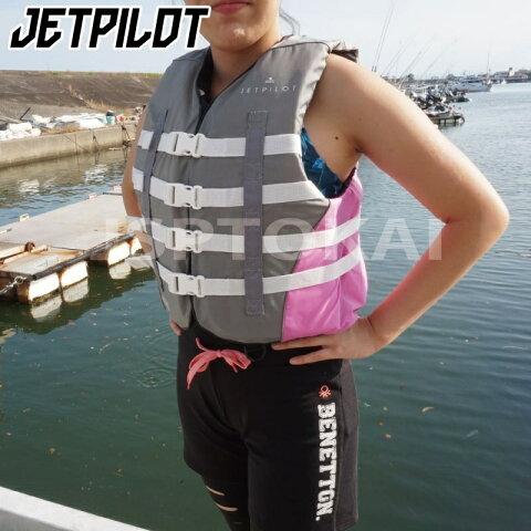 【2020新作】 JA19227 女子 ジェットパイロット ライフジャケット CAUSE 4バックルベスト Jetpilot ジェットスキー 水上オートバイ