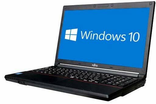 パソコン, ノートPC Windows10 64bit4GBHDD320GBW-LANDVD FMV-LIFEBOOK A553HX 5016756