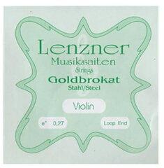 ■E線・4/4サイズ■バイオリン弦 ゴールドブロカット ループエンド