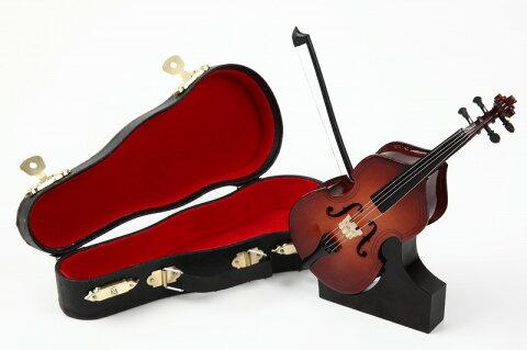 ■ミニチュア楽器 コントラバス 14cm