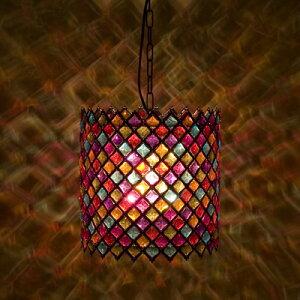 豪華でアンティーク調なランプ♪ トルコモザイクランプです♪♪軽量なうえに、見た目はすごく豪...