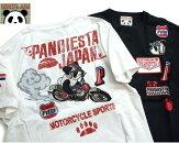 パンディエスタTシャツpandiestaダートレースパンダtシャツ熊猫足型ポケットtシャツ529205パンディエスタPANDIESTA2019