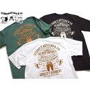 ダルチザンTシャツ2021OVERALLS零戦tシャツ8029B日本製STUDIOD'ARTISANUSコットンプリント半袖Tシャツ国産