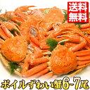 訳あり!ボイル姿 ズワイガニ 6〜7尾セット/合計約 4.5kg 入り 蟹 人気 正月