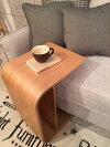 【サイドテーブル】ソファ◆木製ナチュラル曲げ木ウッドテーブルお洒落