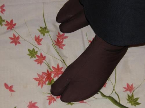 【限定品】「和名・色足袋~唐茶足袋」