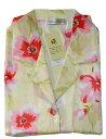 花柄の シルクパジャマレディース パジャマ 母の日