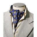 プリント柄 メンズ シルクスカーフ 紳士用 絹100% シルク スカーフ 敬老の日 プレゼント