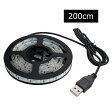 【単色】USB 防水LEDテープライト 1チップ(白ベース) 200cm DC5V