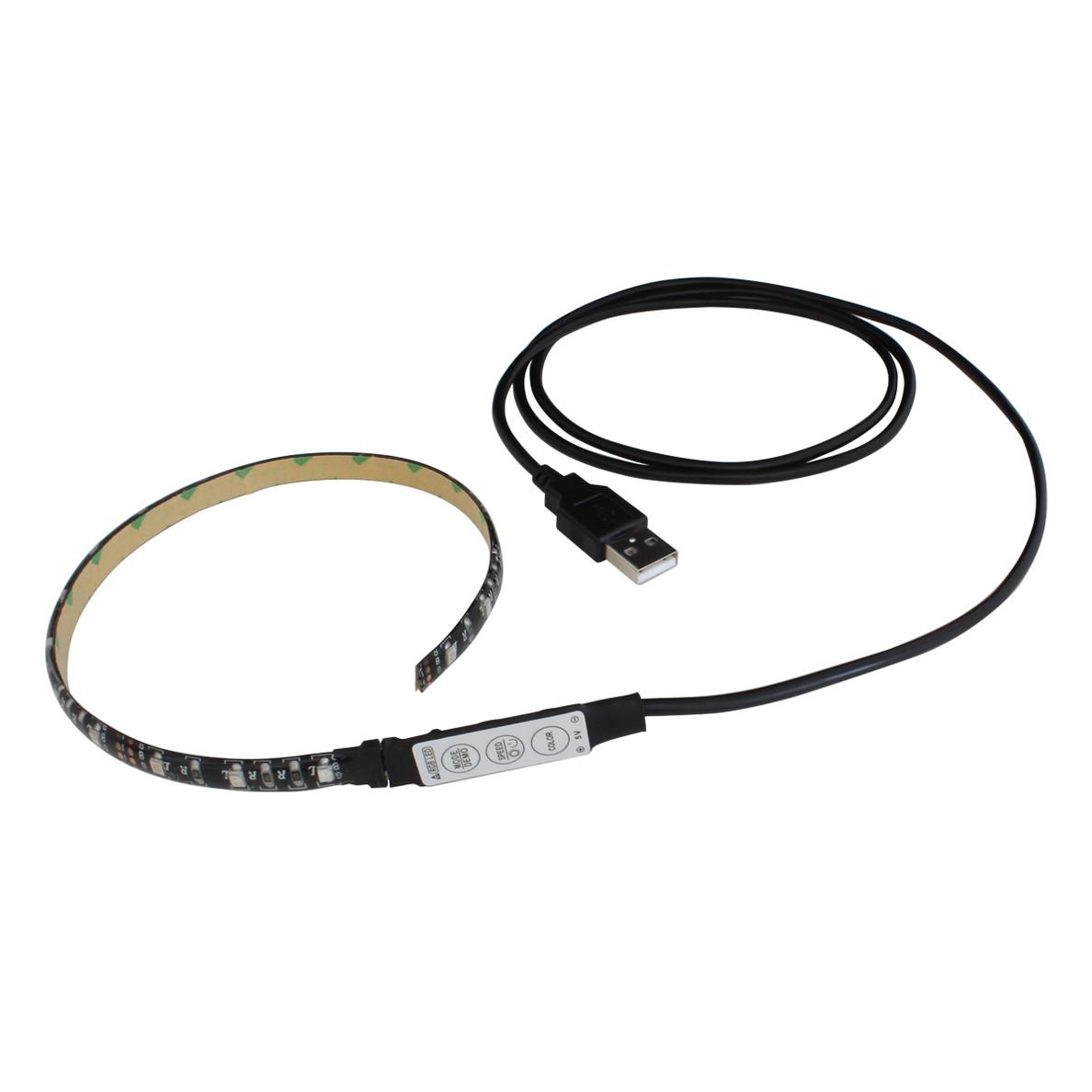 USBグッズ, その他 Kaito6971(1) USB LED RGB(3528) 50cm DC5V