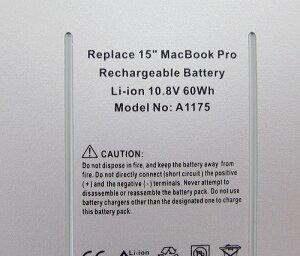 AppleMacBook15inchA1175バッテリー充電池