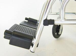車椅子超軽量!【モスキー】【マドラスグリーンチェック】【アルミ】【自走式】【車イス】【超軽量】【背折れ】【ノーパンクタイヤ】【脚部エレーべーティング】【折りたたみ】【介助用】A103-AKG