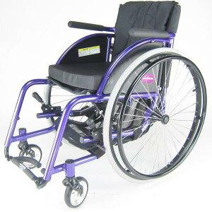 車椅子車いす車イス『Poseidon(ポセイドン)』スポーツレジャーオールラウンド自走折りたたみA701